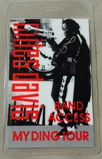 Miles Davis Laminated Backstage Pass Band Access My Ding Tour Jazz Music