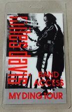 MILES DAVIS LAMINATED BACKSTAGE PASS BAND ACCESS MY DING TOUR JAZZ MUSIC
