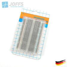 Steckbrett Breadboard Experimentierbrett Transparent 400 Kontakte/Pins