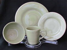 Tag Sonoma 16 Piece Dinnerware Set Apple Green Service For 4 NIB