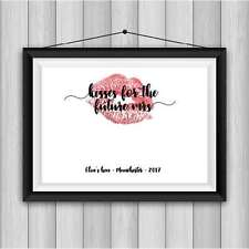 kisses for the future mrs! Hen Party Keepsake. Kiss The Miss Goodbye