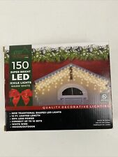 Stay Off the Roof Bright LED Christmas Lights Set Holiday Decor Icicle