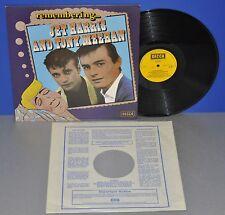 Jet Harris and Tony Meehan remembering VG++/M- England Decca REM1 Vinyl LP nice