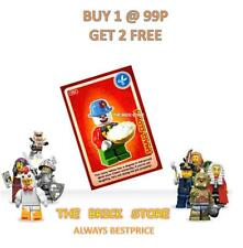 LEGO #101 - SMALL CLOWN - CREATE THE WORLD TRADING CARD - BESTPRICE + GIFT - NEW