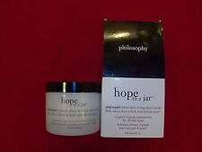 Philosophy Hope in a Jar 120 ml/ 4 fl oz Luxury Size *sealed and in box*