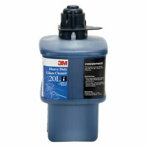 3M 20L Heavy-Duty Glass Cleaner Concentrate, 2 Liters