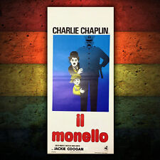 Original Movie Poster Locandina Il Monello The Kid Charlie Chaplin 33x70 CM