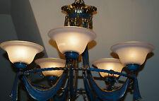 Latón Araña de Cristal Lámpara de Techo Araña Lámpara Altura 70Cm Diámetro 70 Cm
