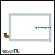 VETRO +TOUCH SCREEN ORIGINALE MEDIACOM SmartPad iyo 10 M-SP1BY M-SP1AY BIANCO