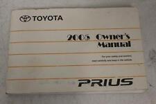 2005 TOYOTA PRIUS PLUS NAVIGATION OWNER'S MANUAL