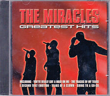 CD 14T THE MIRACLES GREATEST HITS BEST OF 2002 NEUF SCELLE
