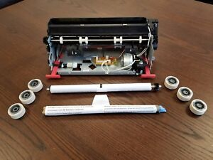 Lexmark T640/642/644 Maintenance Kit W/ NEW OEM rollers - OUTRIGHT 40x0100