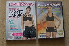ANNA LEWANDOWSKA Trening Cardio + EWA CHODAKOWSKA METAMORFOZA DVD