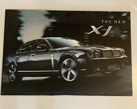 "Rare Jaguar XJ Dealership Poster Board Advertisement Man Cave 36"" X 24"""