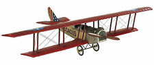 "WWI Flying Circus Curtiss Jenny JN4 Biplane 20"" Built Model Airplane"