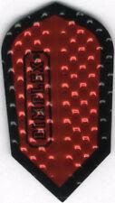 Metalic Red Slim Dimplex Dart Flights: 3 per set