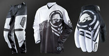 Metal Mulisha Optic MX Pants Jersey Gloves Motorbike Black White