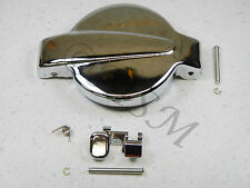 NEW HONDA GAS FUEL PETROL TANK CAP LID & RELEASE LATCH THUMB LEVER SET CLP