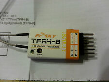 NEW FrSky Futaba FASST compatible- TFR4-B 4 channel receiver w/End PINS/PPM/RSSI
