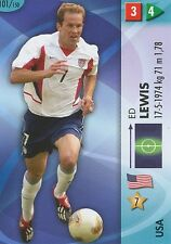 N°101 ED LEWIS # USA TRADING CARDS PANINI WORLD CUP 2006