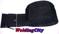 "WeldingCity® Cable Cover Nylon 12' (L) x 3"" (W) w/ Zipper TIG Welding Torch 9/17"