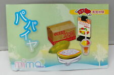 Miniatures Mimo Hong Kong Style Sweet Shop Food Set No.6, 1pc.   , #7ok
