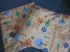 Square set (2) Earth Aromatherapy flaxseed theraputic herb pillows - great gift