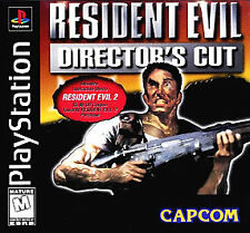 RESIDENT EVIL DIRECTOR'S CUT PS1 PLAYSTATION 1 DISC ONLY