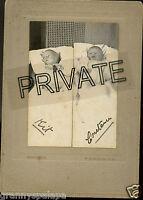 Antique Photo - Fort Collins, Colorado 2 Babies, Twins - Kit & Constance, Id'd
