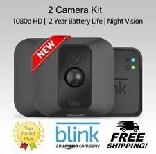 Blink Xt 2-Camera Indoor/Outdoor 1080p Surveillance System With Sync Module New