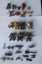 Halo Mega Bloks Mini Figures and Weapons Lot