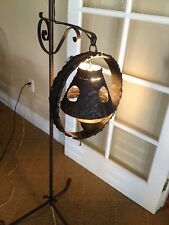 Vintage Metal Rustic Spanish revival Floor Lamp