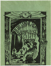 GRATEFUL DEAD * RICK GRIFFIN Original 1967 DEBUT 1ST LP PROMOTIONAL Handbill #4