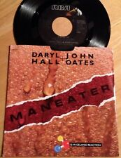 Daryl Hall & John Oates 45 Maneater / Delayed Reaction  w/PS
