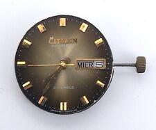 Citizen Cal. 6501 Automatic NO Funciona For Parts 26mm Volante libre watch