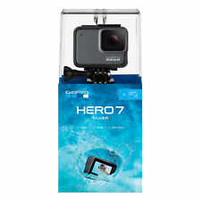 GoPro HERO7 Silver Camera – Waterproof, 4K Video, WDR Stills, Built-in GPS