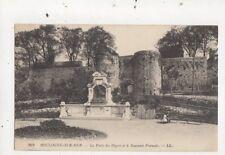 Boulogne Sur Mer Porte des Degres & Souvenir Francais 1915 LL 262 Postcard 842a