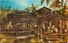 Marina Del Rey Ca~The Warehouse Restaurant~Admiralty Way~1960s Postcard