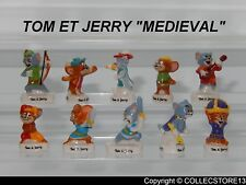 SERIE COMPLETE DE FEVES TOM ET JERRY MEDIEVAL