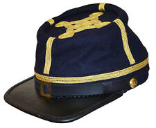 American Civil War Blue Confederate Generals Kepi Cap Hat 60/61cms Extra Large