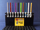 10 NEW LEGO® STAR WARS MINIFIG LIGHT SABER LOT, ANAKIN, 10 COLOURS