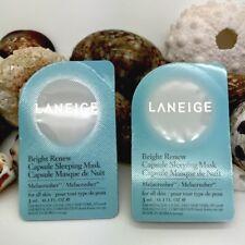 Laneige Bright Renew Capsule Sleeping Mask - 2 full-size capsules