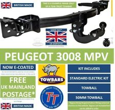 Towbar for Peugeot 3008 Crossover 2009 to 2017 Flange  Tow-Trust TP8 Tow Bar