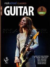 Rockschool Classics Guitar Grade 1 TAB Music Book/Audio Eric Clapton Bryan Adams