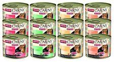 Animonda Katzenfutter Carny Kitten Mix aus 4 Varietäten 12er Pack 12 x 200 g