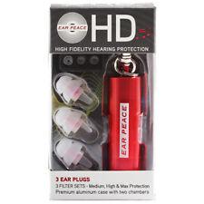 Ear Peace HD Gehörschutz Ohrstöpsel Rot
