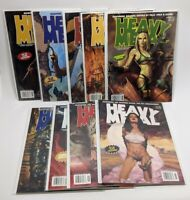 (9) 2004 Heavy Metal Magazines Full Year: Jan March May July Sept Nov + Specials