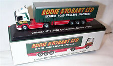 EDDIE STOBART LEYLAND DAF FT85CF CURTAINSIDE H345 DAVENA 1:76 New Boxed