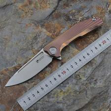 Kevin John Venom New concept S35Vn folding knife pocket knife with torix sheath