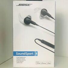 Bose SoundSport in-ear Sport Kopfhörer für Apple Geräte iPhone iPod - schwarz